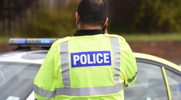 Police pursued the stolen car which was deliberately crashed into their patrol vehicle