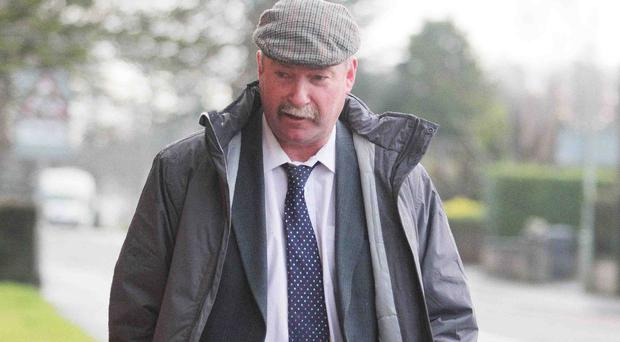 Solicitor John Hickey at court in Coleraine at an earlier appearance