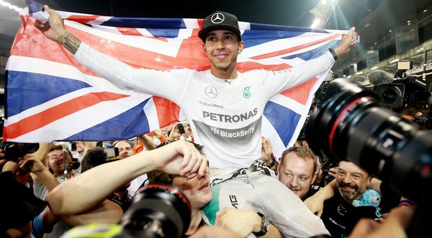 New F1 world champion Lewis Hamilton is in the running to be named BBC Sports Personality of the Year