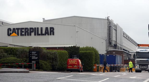 Jobs are to go at the Caterpillar factory in Larne in Co Antrim