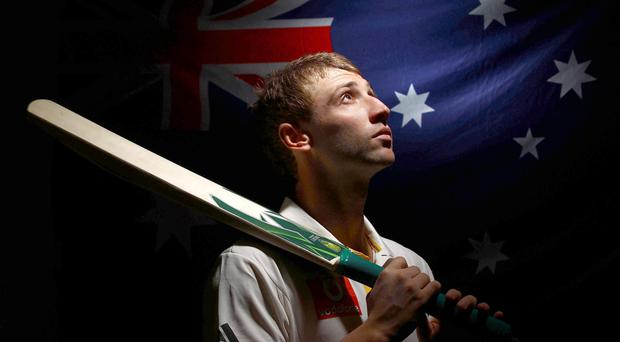 Australian cricketer Phil Hughes