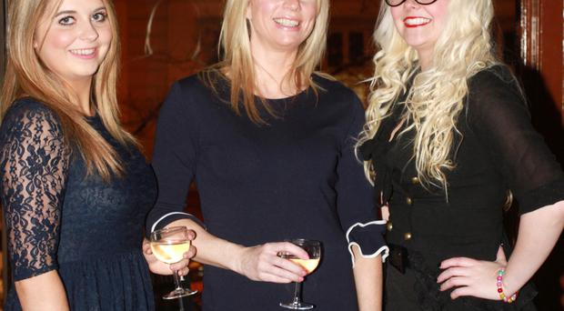 Holly Wilson and Nikki Paterson from Titanic Belfast and Petrina McAuley