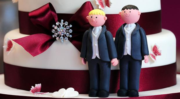 The bakers declined an order of a cake with a pro-gay marriage message on it