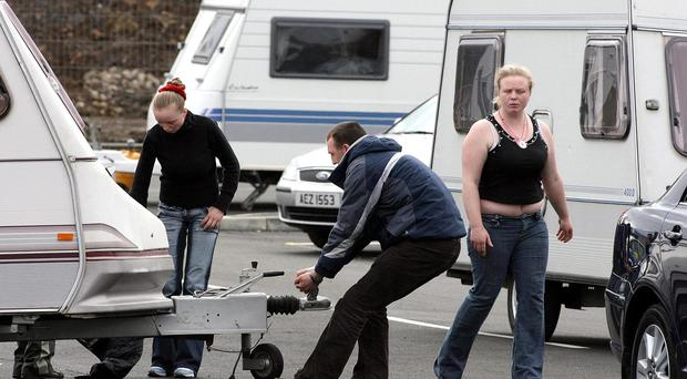 Some Travellers in Northern Ireland say they still feel oppressed