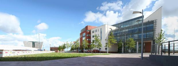 There are concerns at the ongoing cost of Belfast Met's Titanic campus