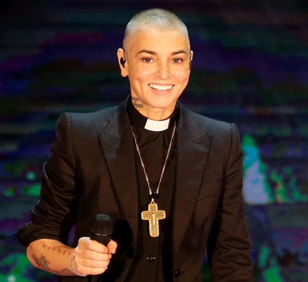 Singer Sinead O'Connor has joined the republican party