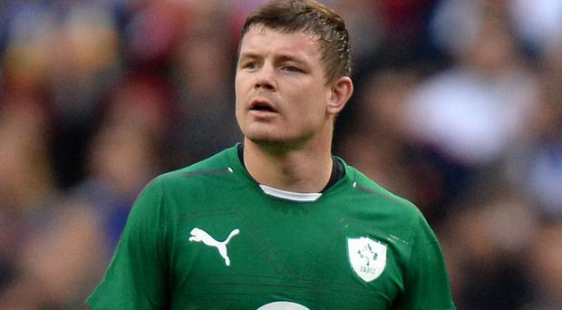 Brian O'Driscoll was capped 133 times for Ireland