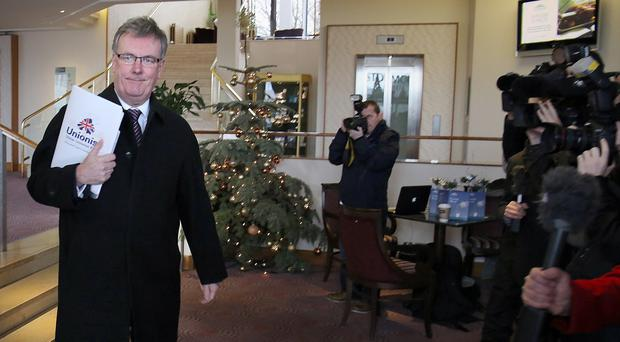 Mike Nesbitt was frustrated his party spent a lot of time kept out of the talks
