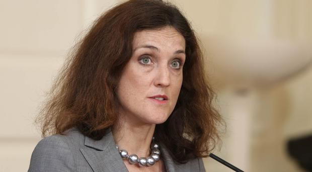 Theresa Villiers said the Northern Ireland executive would be left increasingly unable to conduct day-to-day business effectively if a balanced budget was not agreed