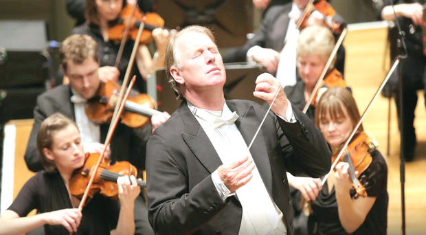 The Ulster Orchestra performing under conductor Jac Van Steen