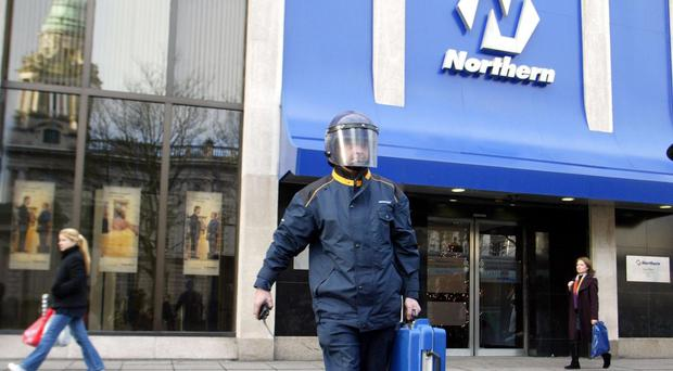 The IRA is suspected of having carried out the Northern Bank raid