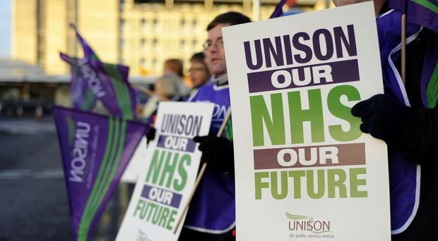 Unison members are set to walk out next month amid a continuing row over pay