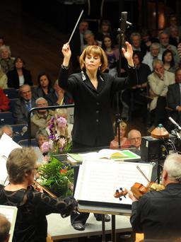 JoAnne Falletta conducts the Ulster Orchestra