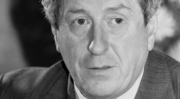 Dr Garret FitzGerald appealed to Margaret Thatcher to save their talks on the future of Northern Ireland