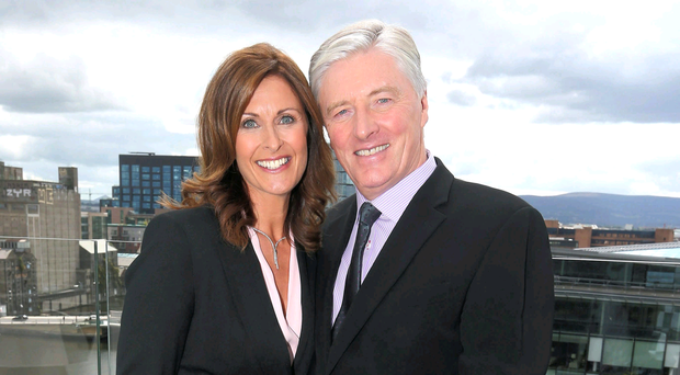 Alison Comyn with Pat Kenny