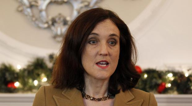Northern Ireland Secretary Theresa Villiers said she hoped 2015 would be a year of