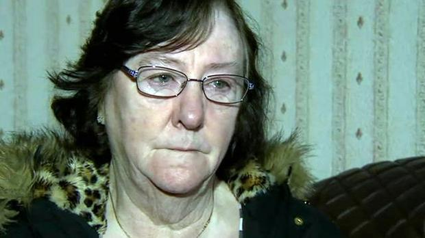 Roberta Wilson has described her panic after petrol bombs were thrown at her bungalow in County Londonderry