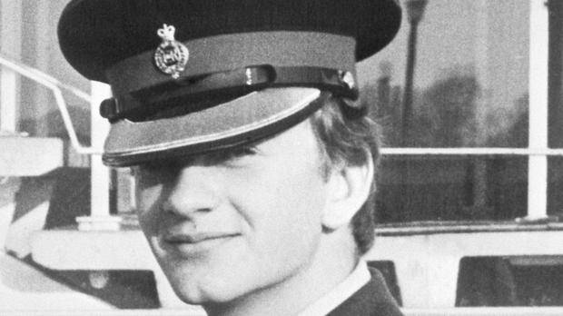 Household Cavalry officer Lieutenant Denis Richard Anthony Daly died in an IRA bomb explosion in Hyde Park, London, in 1982