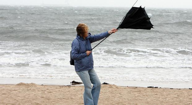 Forecasters say that conditions could rival the storm-like weather which battered parts of southern England at the end of 2013