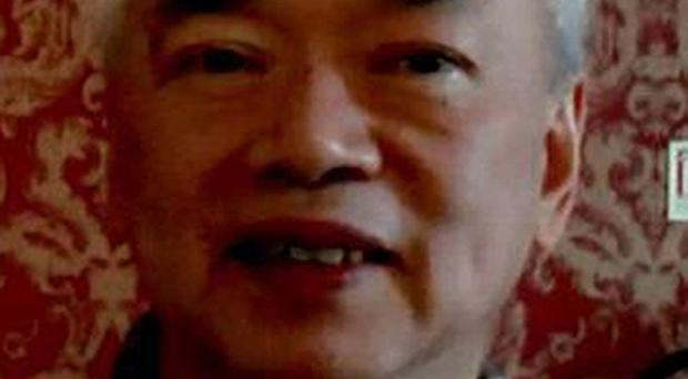 Nelson Cheung, 65, was murdered after robbers forced his car off the road