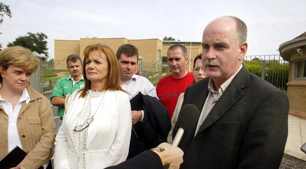 The UVF said its mid-Ulster brigade had targeted Ms Mallon's nephew Martin, right, who lived half-a-mile away