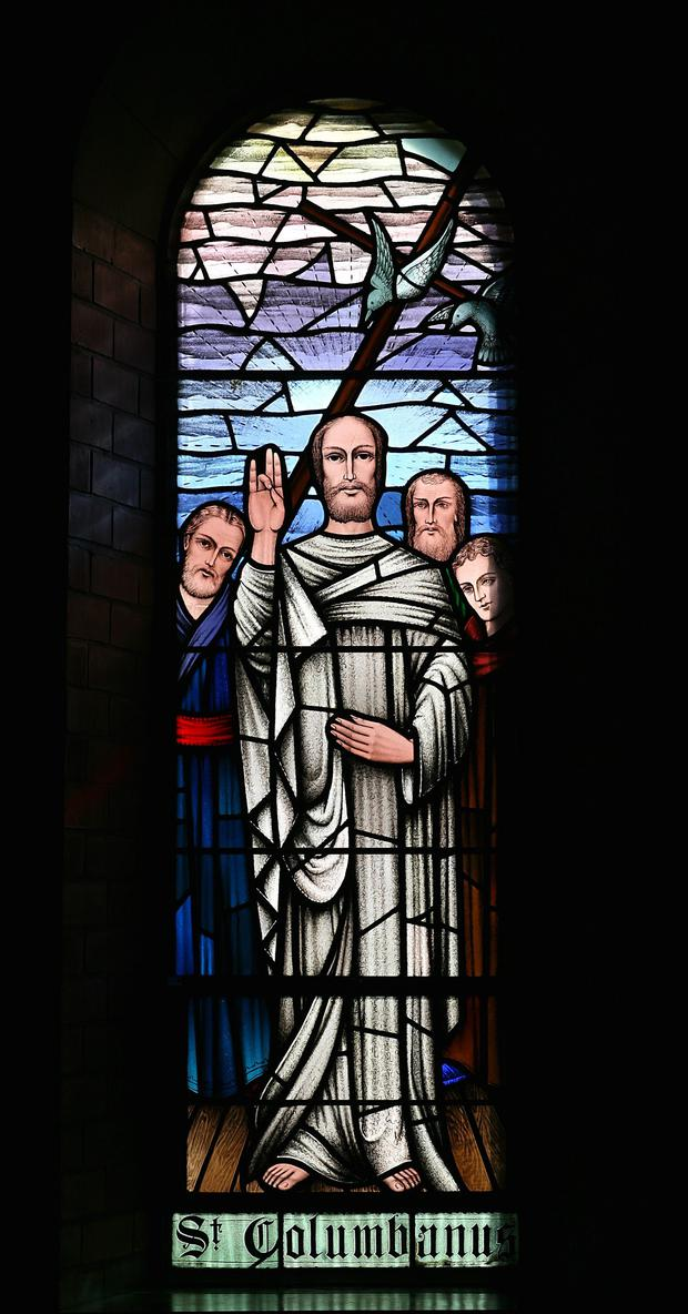 Revered: St Columbanus