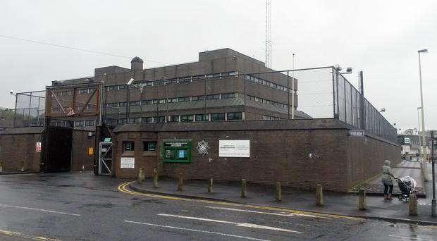 The men have been taken to Antrim Police Station