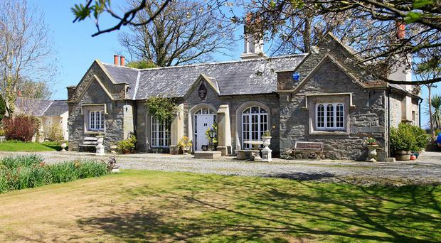Luxury living: This house in Strangford has been on the market since 2013
