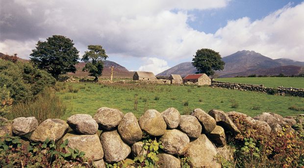 A view of the Mournes. The area falls under the remit of the new Newry, Mourne and Down super council