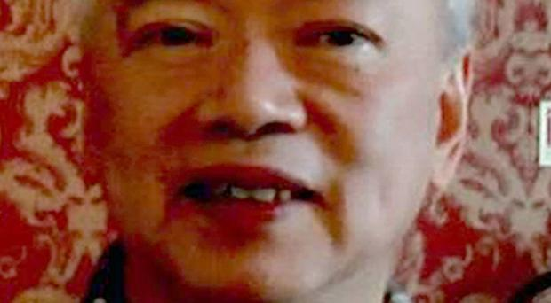 Nelson Cheung was murdered after his car was forced off the road (Police Service of Northern Ireland/PA)