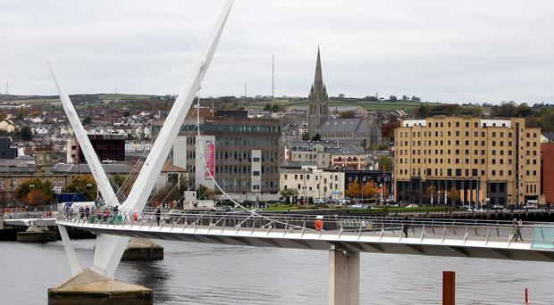 The NI Housing Executive office in Richmond Chambers in the centre of Derry is to be closed within six months