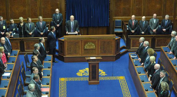 Taxpayers and US tycoon fund £600k Stormont training