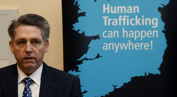 Kevin Hyland at the cross border conference on forced labour