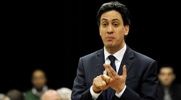 Ed Miliband has pledged a Labour government would be