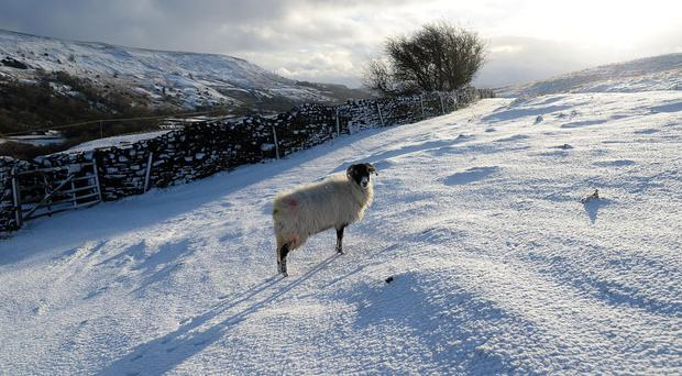 Forecasters have warned of snow showers hitting the UK from Wednesday