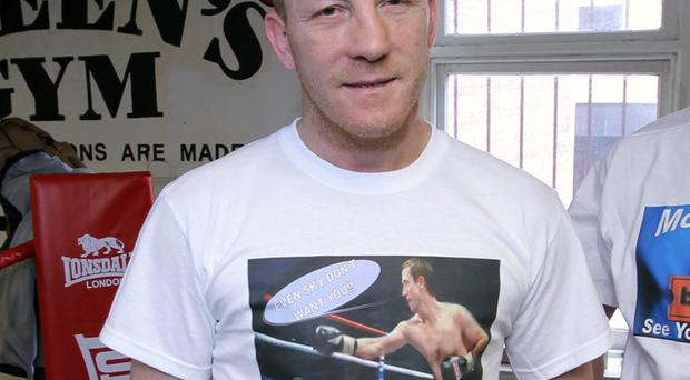 Former world boxing champion Eamonn Magee