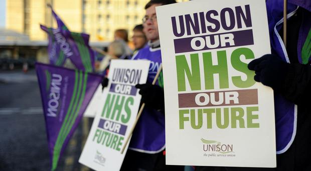 The dispute over the NHS has been long-running
