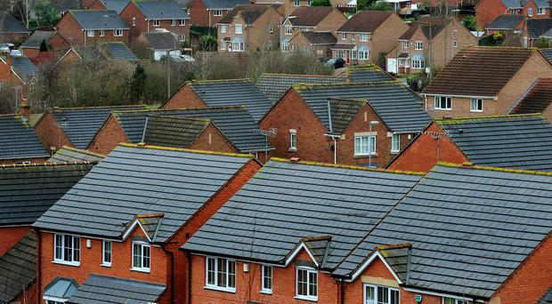 Figures show a rise in the number of detached homes being built