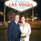 Stewart and Jennifer after their wedding in Las Vegas in December