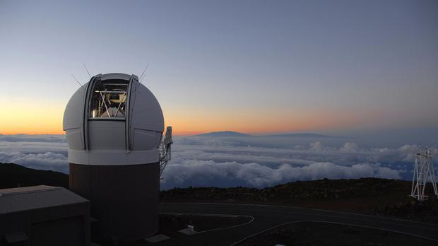 Maui is already home to the Pan-Starrs sky survey telescope, known as PS1