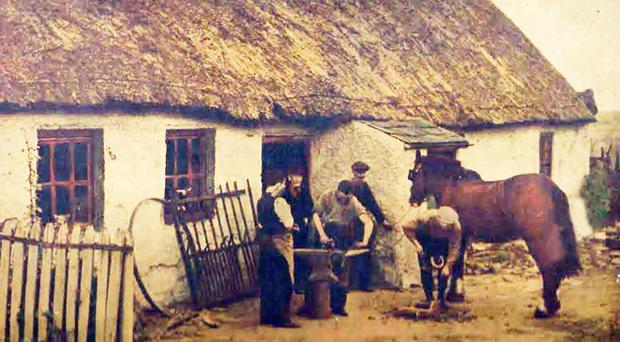 The old blacksmith shops were put out of business by the growing popularity of motorised vehicles