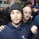 Carl Frampton and manager Barry McGuigan