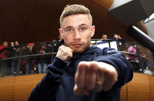 Packing a punch, Frampton defended his title twice this year.
