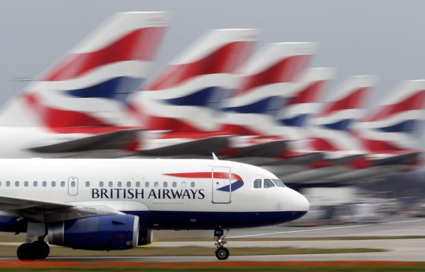 British Airways flight was flying from London to Seattle