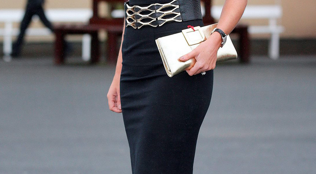 Style winner: Chanelle McCoy in one of her glamorous race day outfits