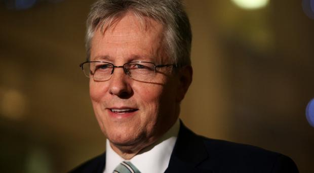 Peter Robinson said they want to see the police and community safety college constructed