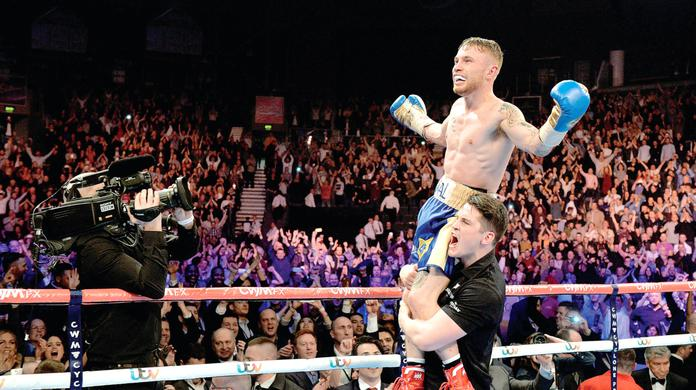 What a belter! King of the ring Carl Frampton pulls in 2