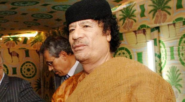 Muammar Gaddafi was killed after the West backed an uprising against him