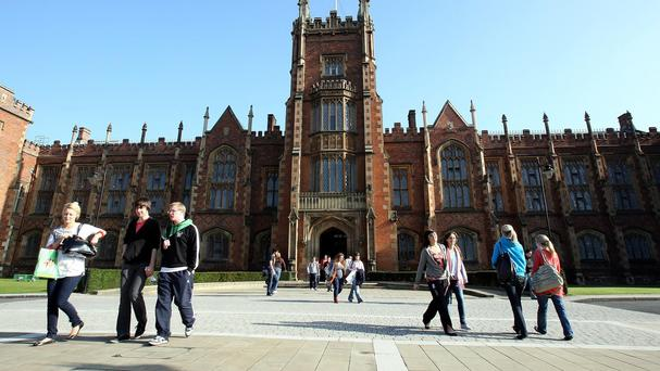 Queen's University Belfast yesterday pulled the plug on the event scheduled for early June, citing a