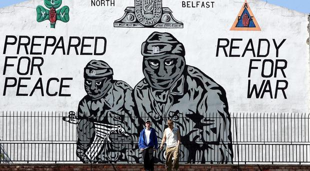 Disaffected young people were said to be at risk of being influenced by paramilitary groups